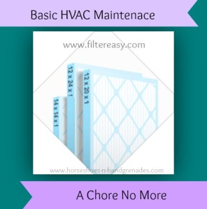 Basic HVAC Maintenance is a Chore No More