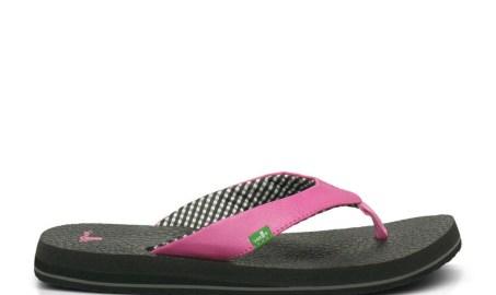 Pink Sanuk Yoga Mat Sandal