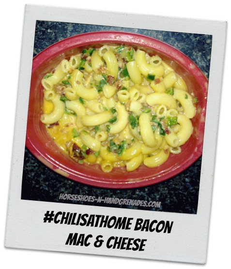 Chilis at Home Bacon Mac & Cheese