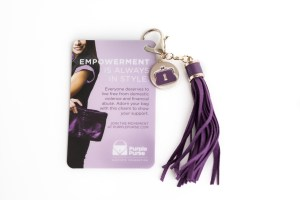 Take the Purple Purse Challenge and Fight Domestic Violence
