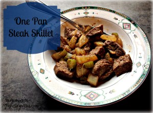One Pan Steak Skillet
