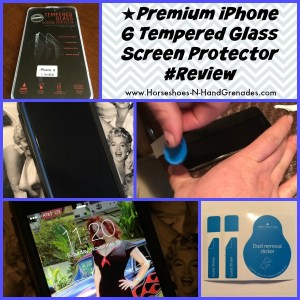 ★Premium iPhone 6 Tempered Glass Screen Protector #Review