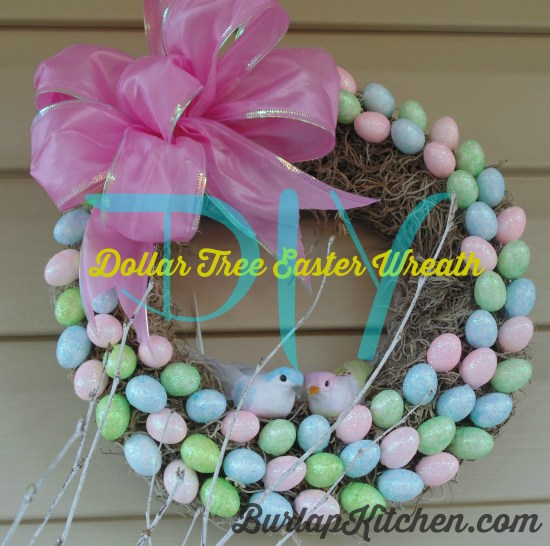 Dollar-Tree-Easter-Wreath