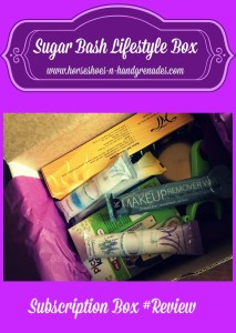 Say Hello! Sugar Bash Lifestyle Subscription Box