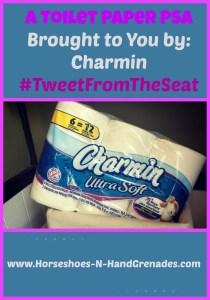 Charmin #TweetFromTheSeat