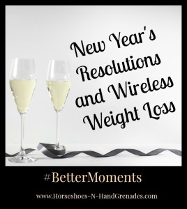 New Year's Resolutions and Wireless Weight Loss