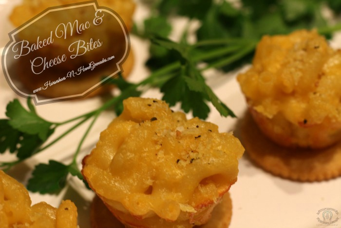 Baked Mac & Cheese Bites