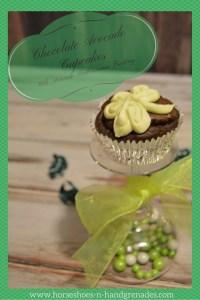Easy Chocolate Avocado Cupcakes with Avocado Buttercream Frosting