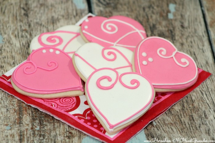 Heart sugar cookie 2