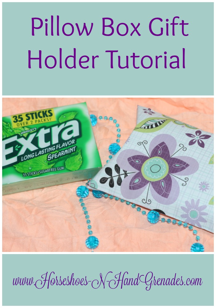 Pillow Box Tutorial and Printable