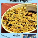 Kid Friendly Chicken Pesto Bowtie Pasta