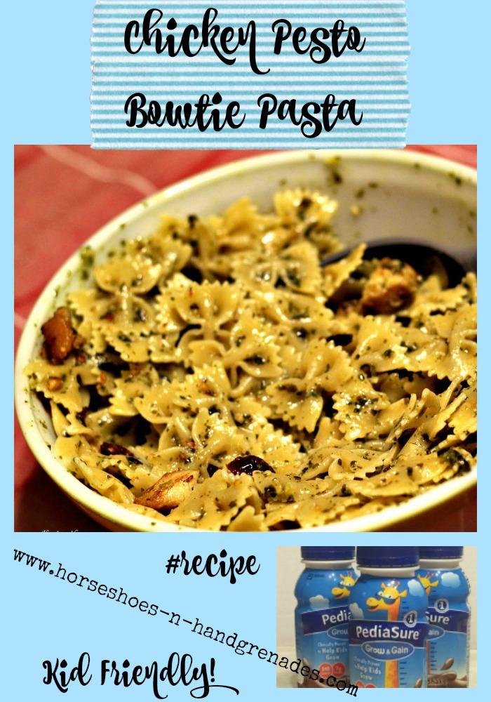 Chicken-Bowtie-Pasta-Pesto