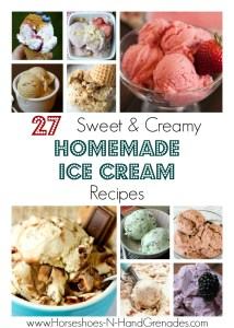 27 Sweet & Creamy Homemade Ice Cream Recipes