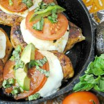 One Pan Caprese Chicken