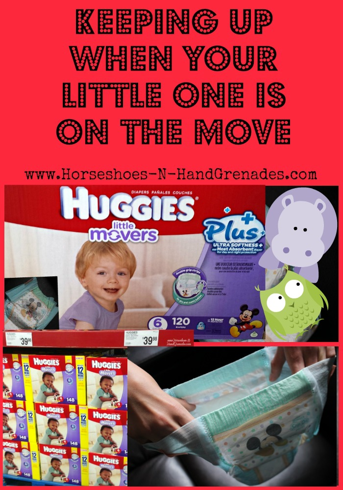 Huggies Little Movers Diapers 2
