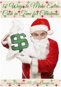 12 Ways to Make Extra Cash in Time for Christmas