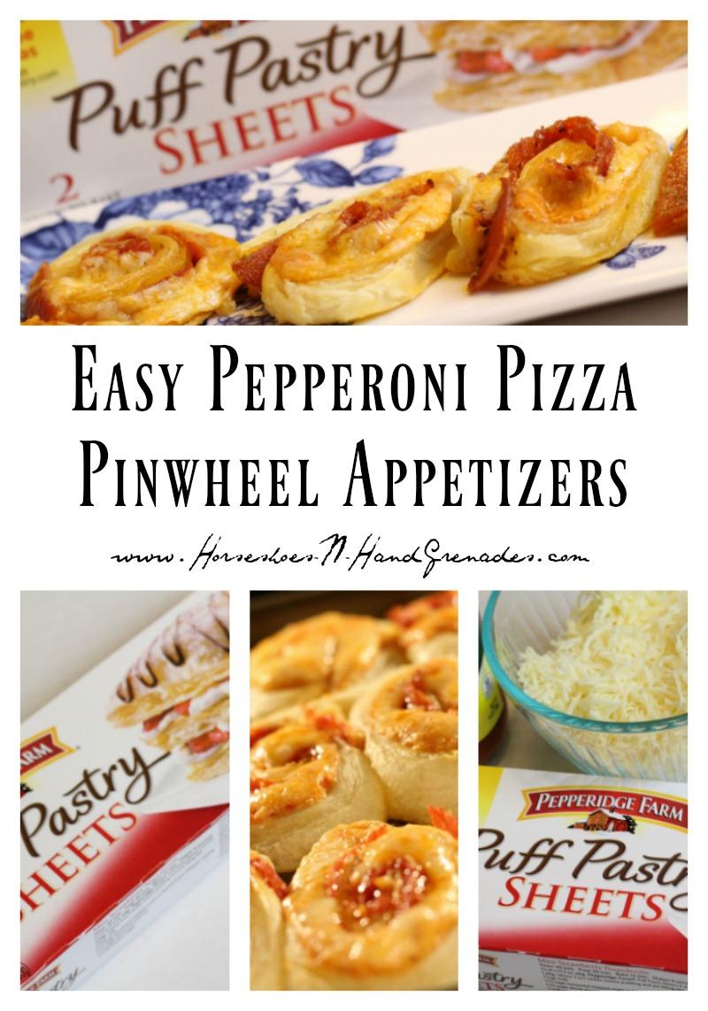 Pizza Pinwheel Appetizer Pinterest