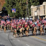 Long Beach Mounted Police all-Palomino troup, Tournament of Roses Parade, 2009