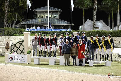 Team USA Wins Hollow Creek Farm FEI Young Rider Nations Cup