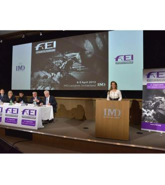 FEI Sports Forum Opens with Debate on Olympic and Paralympic Qualification