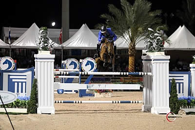 Alvaro de Miranda and AD Rahmannshof's Bogeno Rule the Night in $500,000 FTI Consulting Finale Grand Prix CSI 5*