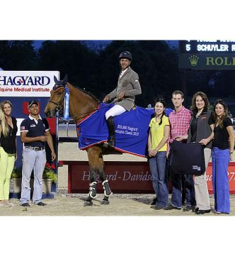 Pablo Barrios Claims Early Lead in Hagyard Challenge Series Standings