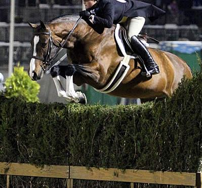 Unstoppable Victoria Colvin Claims Top Two Spots in $15,000 USHJA International Hunter Derby
