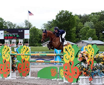 Christine McCrea and Avenir Lead Off at HITS Saugerties, Win $25,000 SmartPak Grand Prix