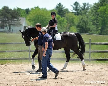 Para-Equestrian Dressage Symposium Energizes U.S. Riders and Trainers
