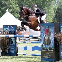 Gwen Goodwin and Fedel placed second