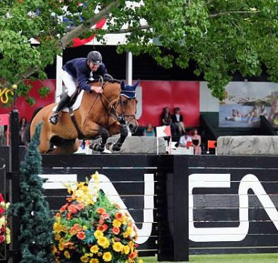 Charlie Jacobs Tops Leader Board for Deeridge Farms at Spruce Meadows 'National'