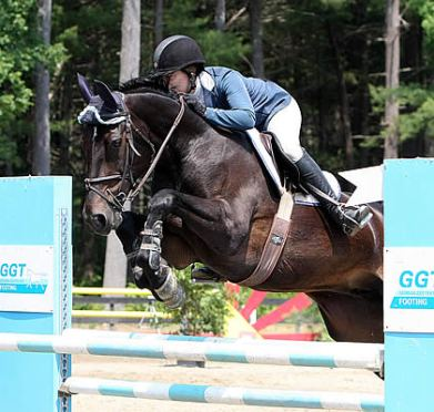 Alissa Kinsey Wins High Child/Adult Jumper Classic at Final Day of Plymouth Rock Hunter/Jumper Classic