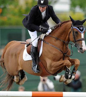 Eric Lamaze and Wang Chung Score Spruce Meadows Victory