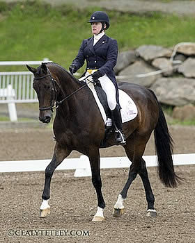 Sharon White Takes Early Lead at the Volvo CCI3* Bromont Three Day Event