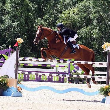 Caitlin Hope and Total Touch Hit the Target to Win the $15,000 McElvain Energy Welcome Stake