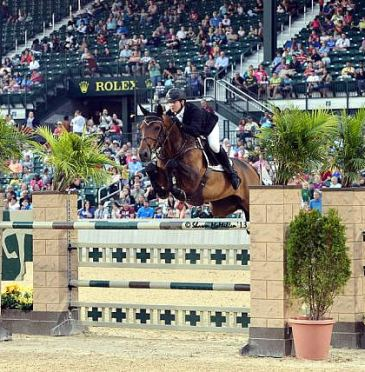 Sweetnam Soars to $50,000 Rood & Riddle Grand Prix Victory at Kentucky Summer Horse Show