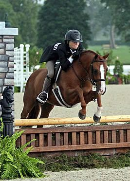 Hana Bieling and Canterbrook Prince Charming Awarded Small Pony Hunter Championship