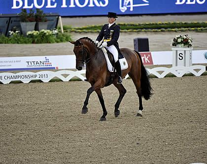 Germany Takes the Lead in Blue Hors Dressage Team Championship, but Eilberg Keeps British Hopes Alive
