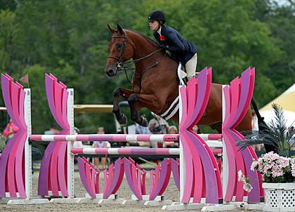 Nora Jodrey and Cashmere Win USHJA Zone III Junior Equitation Finals