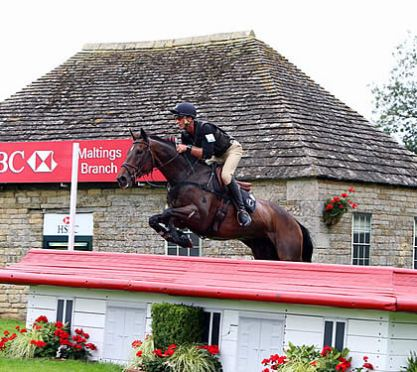 Nicholson Is the Man to Watch at Land Rover Burghley Horse Trials