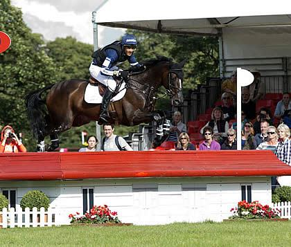 Jonathan Paget in 1st and 2nd Position after Cross-Country at Land Rover Burghley Horse Trials