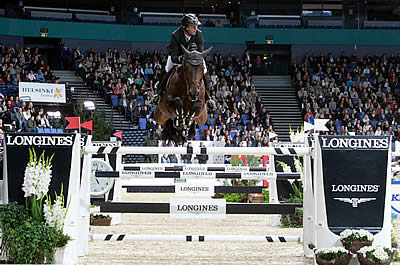 Delaveau Delivers Super Second-Leg Victory at Longines Qualifier in Helsinki