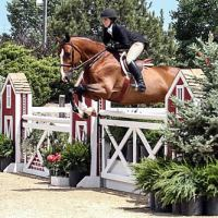 Kelli Cruciotti and her equitation mount Monterrey won the $15,000 USHJA Hunter Derby during Week III of Summer in the Rockies. Photo by Mary Adelaide Brakenridge