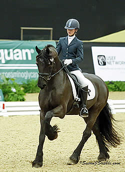 A Full Day of Championship Freestyles at Inaugural US Dressage Finals