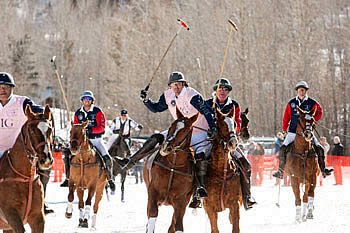 Local Charities Biggest Winners at Dec. 19-20 Piaget World Snow Polo Championship