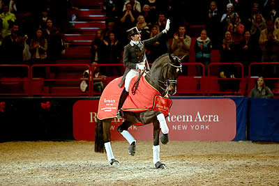 Two-in-a-Row for Tinne and Don Auriello at Reem Acra Qualifier in Stockholm