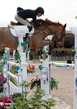 Laura Chapot and Bradberry Victorious in $6,000 Spy Coast Farm 1.40m Speed Challenge
