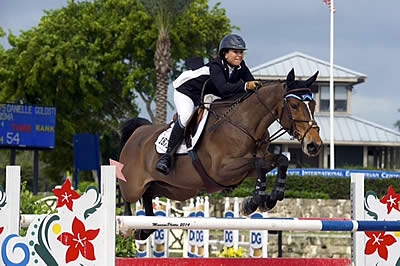 Danielle Goldstein and Carisma Kick Off 2014 Season with Win in $10,000 Open Stake Grand Prix