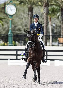 Juan Matute, Jr. and Don Diego Ymas Finish on Top of FEI Intermediaire Freestyle at AGDF 3 CDI W