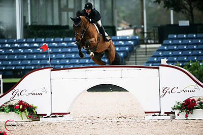 Adrienne Sternlicht and Quidam MB Win First Class of the 2014 Winter Equestrian Festival